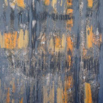 No. 15 / 10.2013 / Acryl, Steinmehl und Pigmente auf Leinwand / 120 x 100 cm