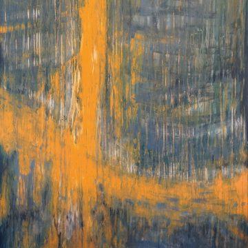 No. 26 / 06.2014 / Acryl auf Leinwand / 160 x 120 cm
