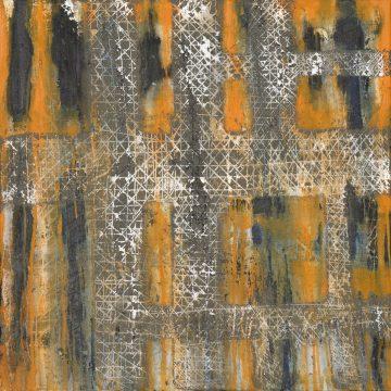 No. 24 / 06.2014 / Acryl und Steinmehl auf Leinwand / 70 x 70 cm