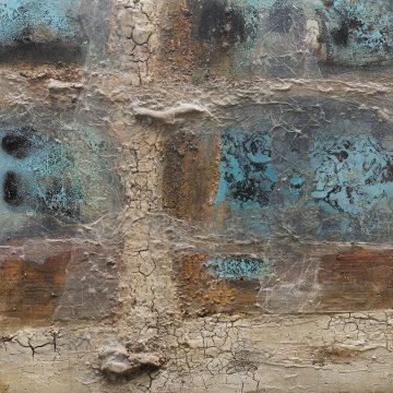 No. 102 / 07.2017 / Acryl, mixed media / 100 x 100 cm