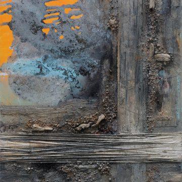 No. 104 / 08.2017 / Acryl, mixed media / 100 x 140 cm