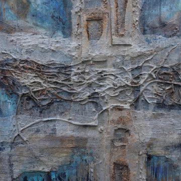 No. 106 / 10.2017 / Acryl, mixed media / 100 x 140 cm
