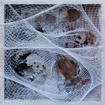 No. 108 / 10.2017 / Acryl mixed media / 25 x 25 x 3 cm