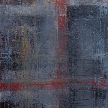 No. 112 / 11.2017 / Öl, cold wax / 80 x 60 cm