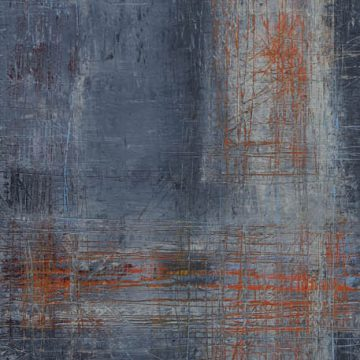 No. 113 / 11.2017 / Öl, cold wax / 125 x 40 cm