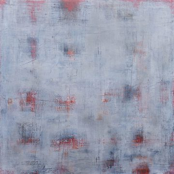 No. 118 / 02.2018 / Öl, cold wax / 120 x 120 cm